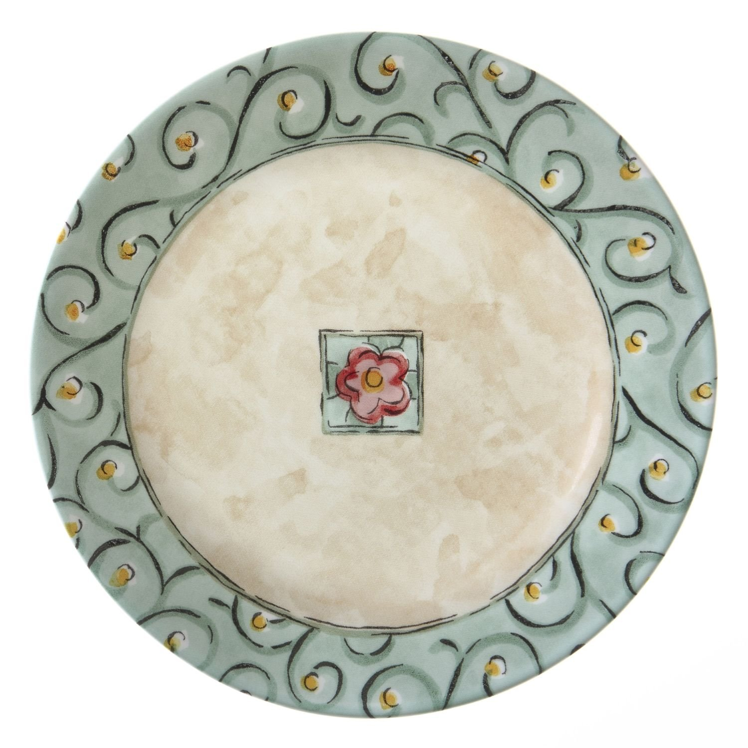 Corelle Impressions Watercolors 8-1/2 Luncheon Plate (Set of 8) by Corelle Coordinates 1055239
