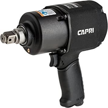 450 ft-lbs Capri Tools 32004 Compact Stubby Air Impact Wrench 1//2 Inch