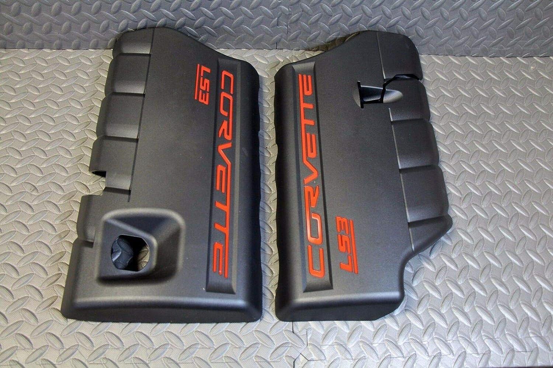 LS3 GM Corvette Engine Covers 2008-2010 Fuel Rail LS-3 6.2L Left Right