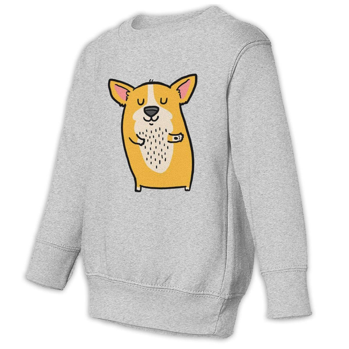 NMDJC CCQ Funny Dancing Dog Baby Sweatshirt Lovely Toddler Hoodies Soft Pullovers
