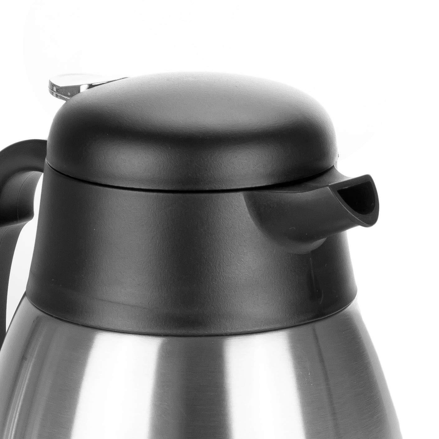Tetera termo de acero inoxidable de doble pared para café o té en ...
