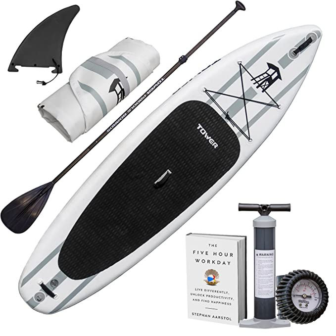 "Best Inflatable SUP Boards : Tower Inflatable 10'4"" Stand Up Paddle Board"