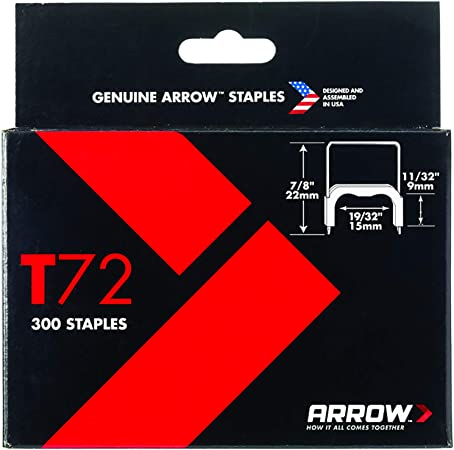 10 BOXES Arrow Fasterners Black T59 Insulated Staples 300 each