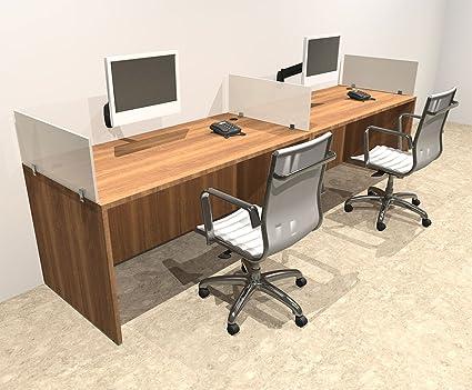 Juego de escritorio moderno para despacho de oficina de dos ...