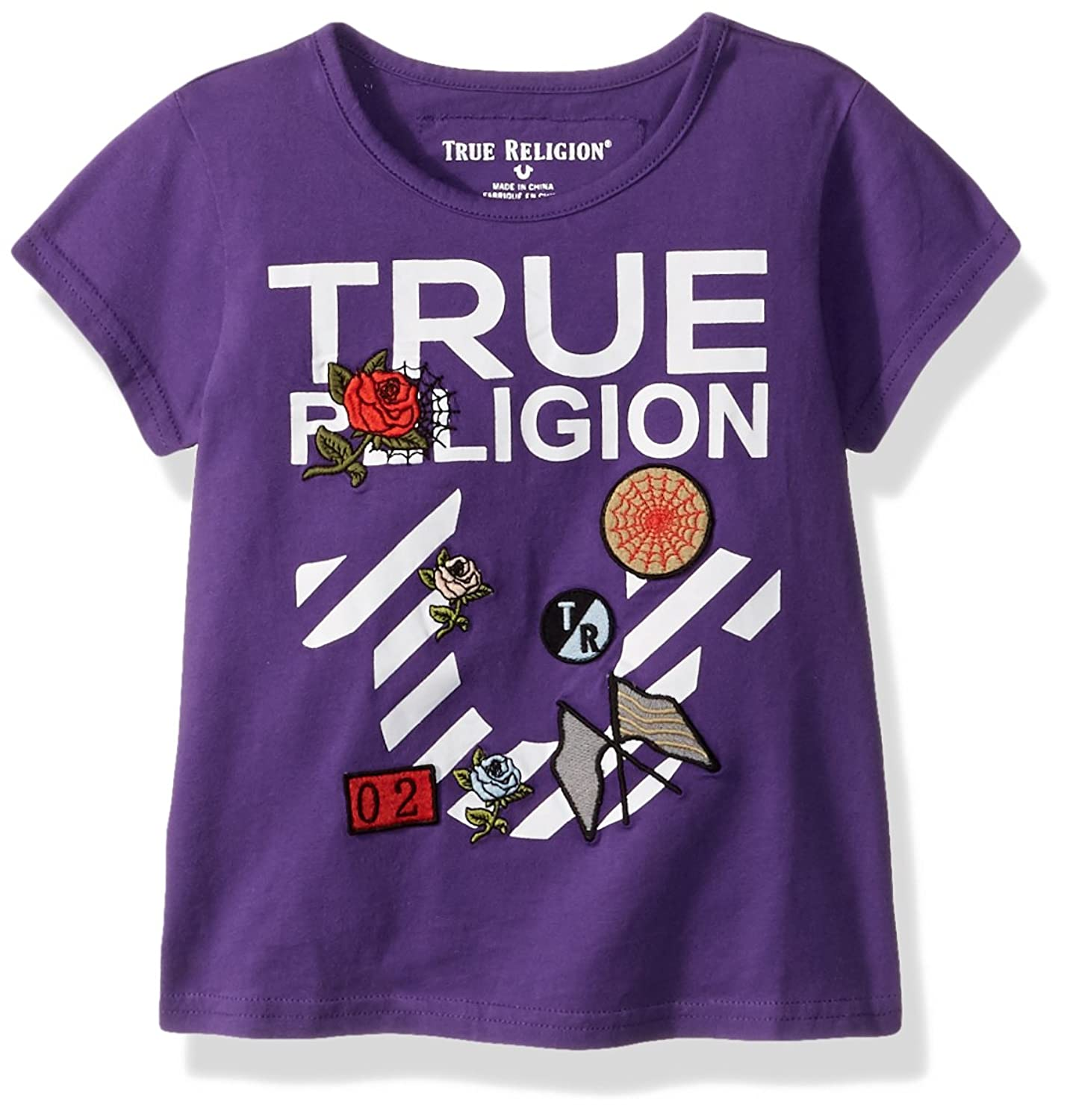 37f98a6e7 True Religion Kids   Size Guide Instill a sense of style for your little  one early on with this super-cool tee. Soft cotton fabrication.