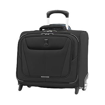 Travelpro Maxlite 5 Bolsa de Viaje Cabina con 2 Ruedas 39x41x22 cm Blanda, Ultraligera y Resistente con Banda Trasera para Trolley 32 litros Equipaje ...