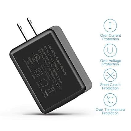 5V/3A UL Certified Wall Charger Adapter