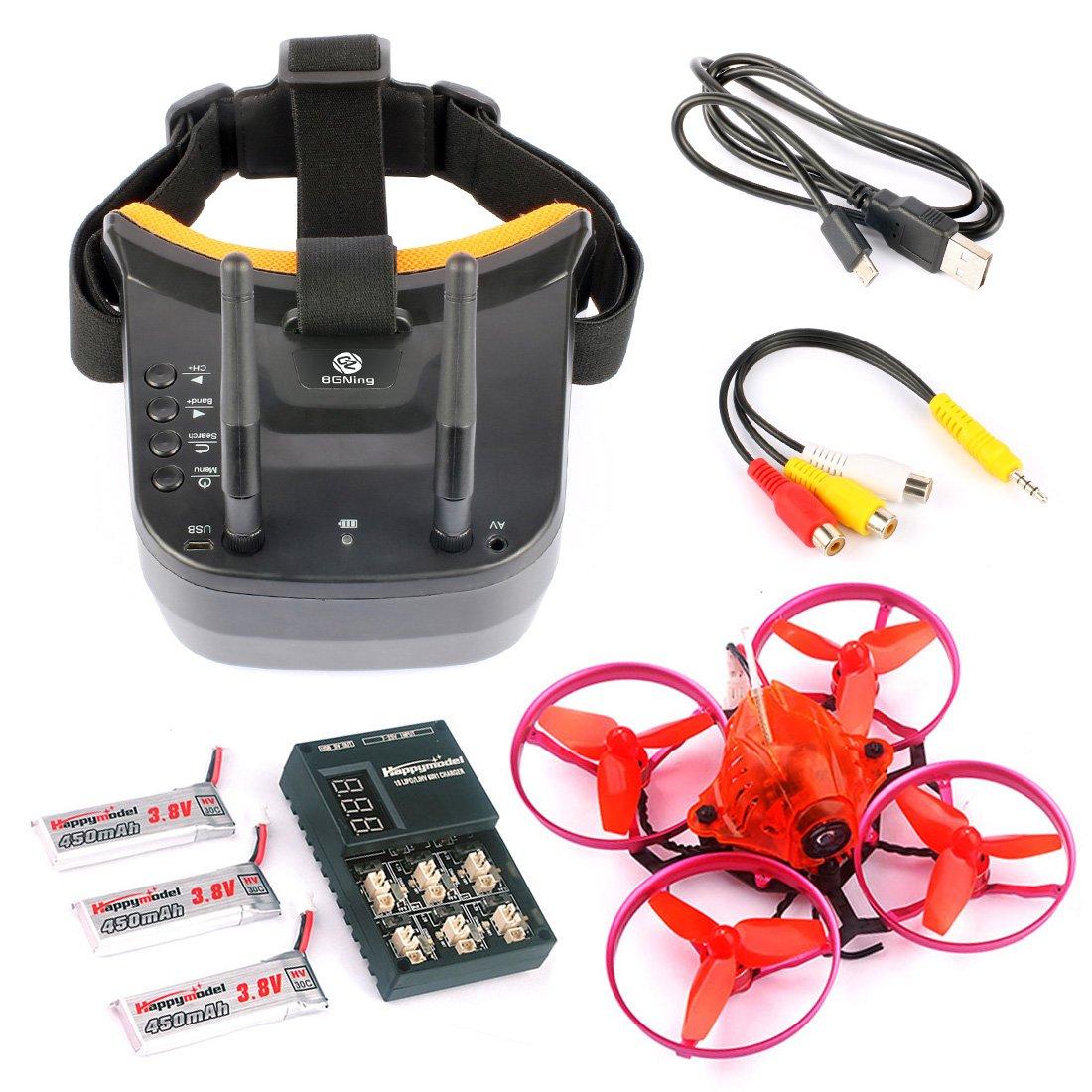 BGNing Snapper7 Brushless Micro 75 mm FPV Racer Drohne RC Quadcopter RTF 700TVL Kamera VTX und Doppelantenne