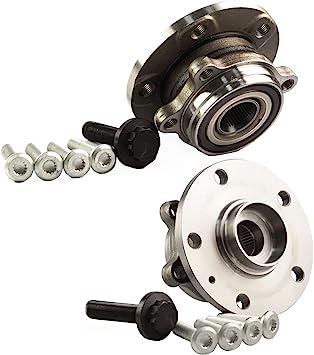 2x 2006-2015 Volkswagen Passat Front Wheel Hub Bearing Assembly
