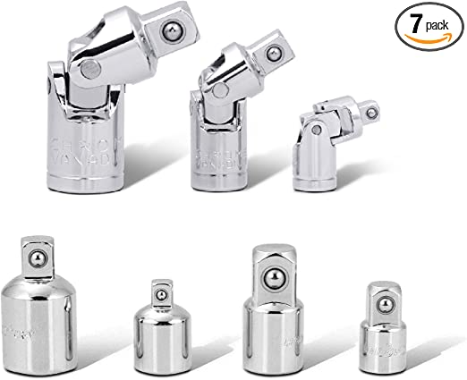 U-Joint /& Adapter Set NEW Craftsman 7-Piece 3//8-Inch Drive Socket Extension