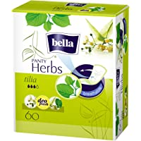 Bella Herbs Panty Liners - 60 Pieces (Tilia Flower)