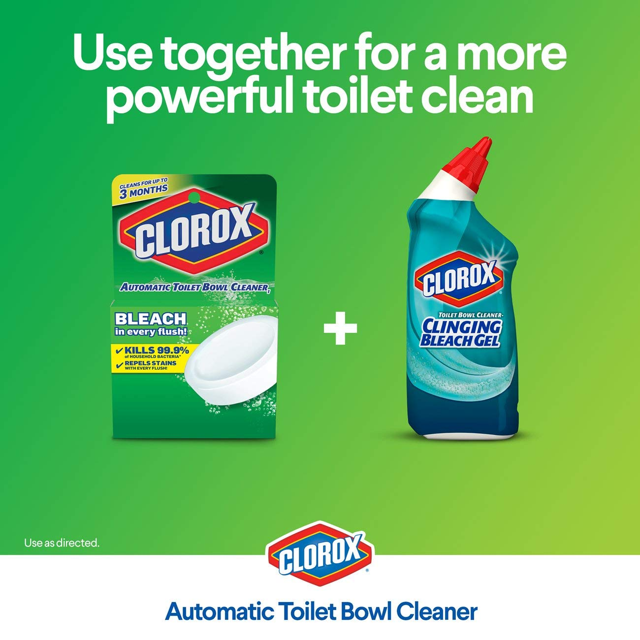 Amazoncom Clorox Automatic Toilet Bowl Cleaner Tablets With Bleach