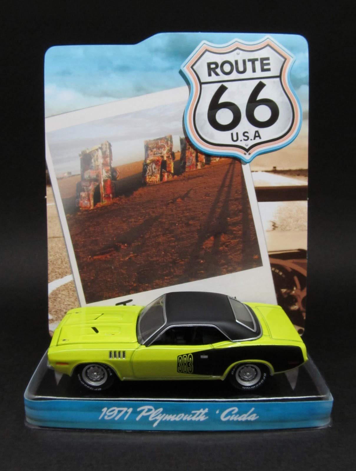 Greenlight SE 1/64 Route 66 U.S.A. Series 1 6-Car Set by Greenlight