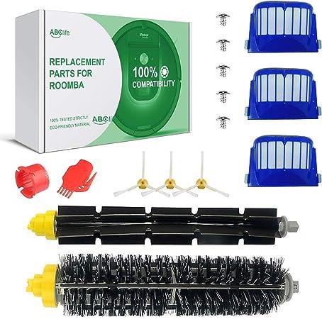 ABClife Kit Cepillos Repuestos de Accesorios Compatible con Aspiradoras iRobot Roomba Serie 600 605 610 615 616 620 625 630 631 632 639 650 651 660 670 680 681 691-15PCS: Amazon.es: Hogar