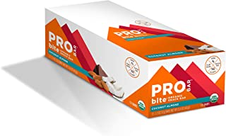 product image for PROBAR - bite Organic Energy Bar, Coconut Almond, Non-GMO, Gluten-Free, USDA Certified Organic, Healthy, Plant-Based Whole Food Ingredients, Natural Energy (12 Count), 1.3 Ounce (Pack of 12)