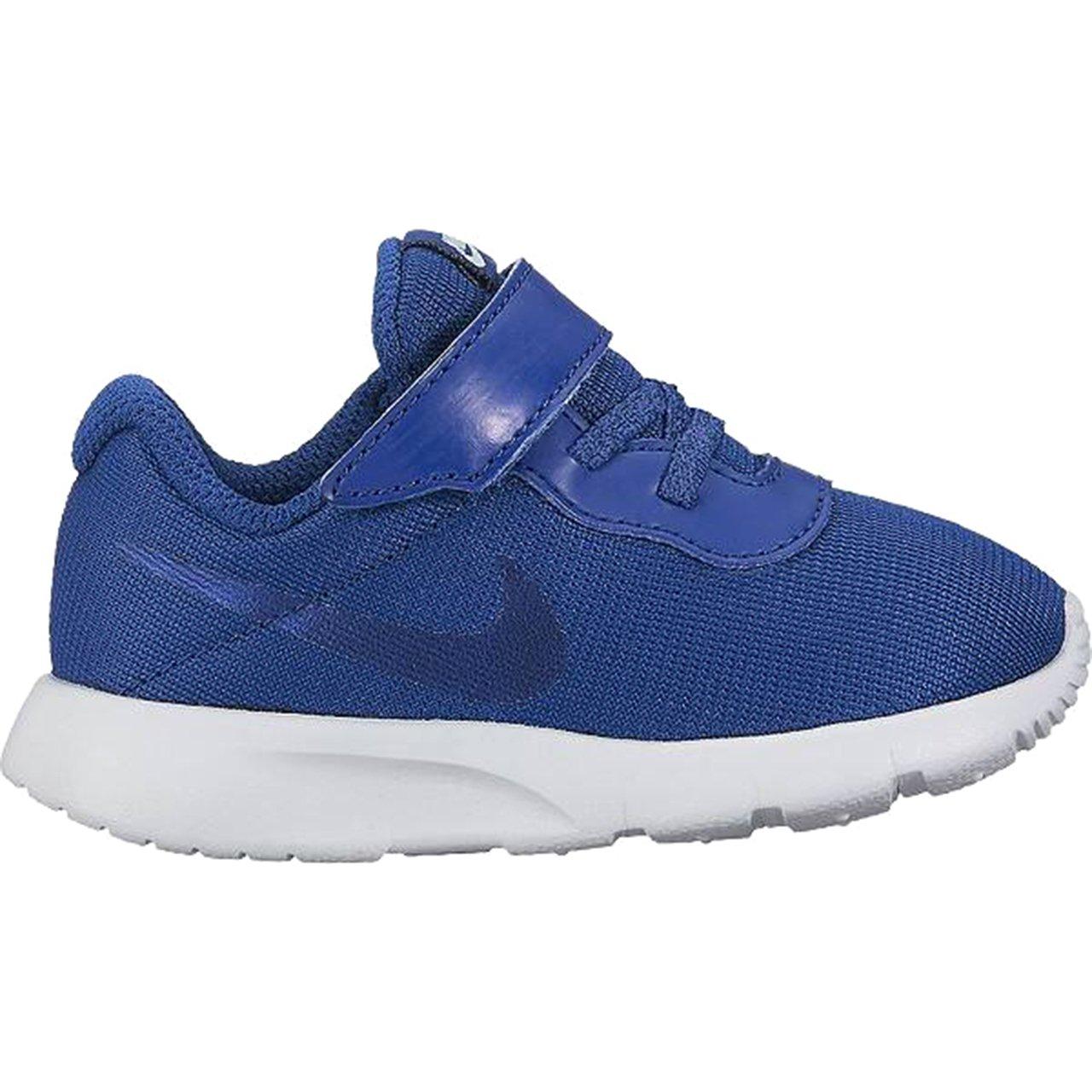 NIKE Boy's Tanjun (TDV) Running Shoes (10 Toddler M, Gym Blue/Gym Blue)