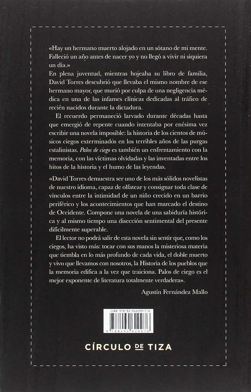 PALOS DE CIEGO: Amazon.es: DAVID TORRES: Libros