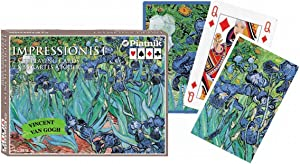 Piatnik Van Gogh - Set of Playing Cards - Irises (1889)