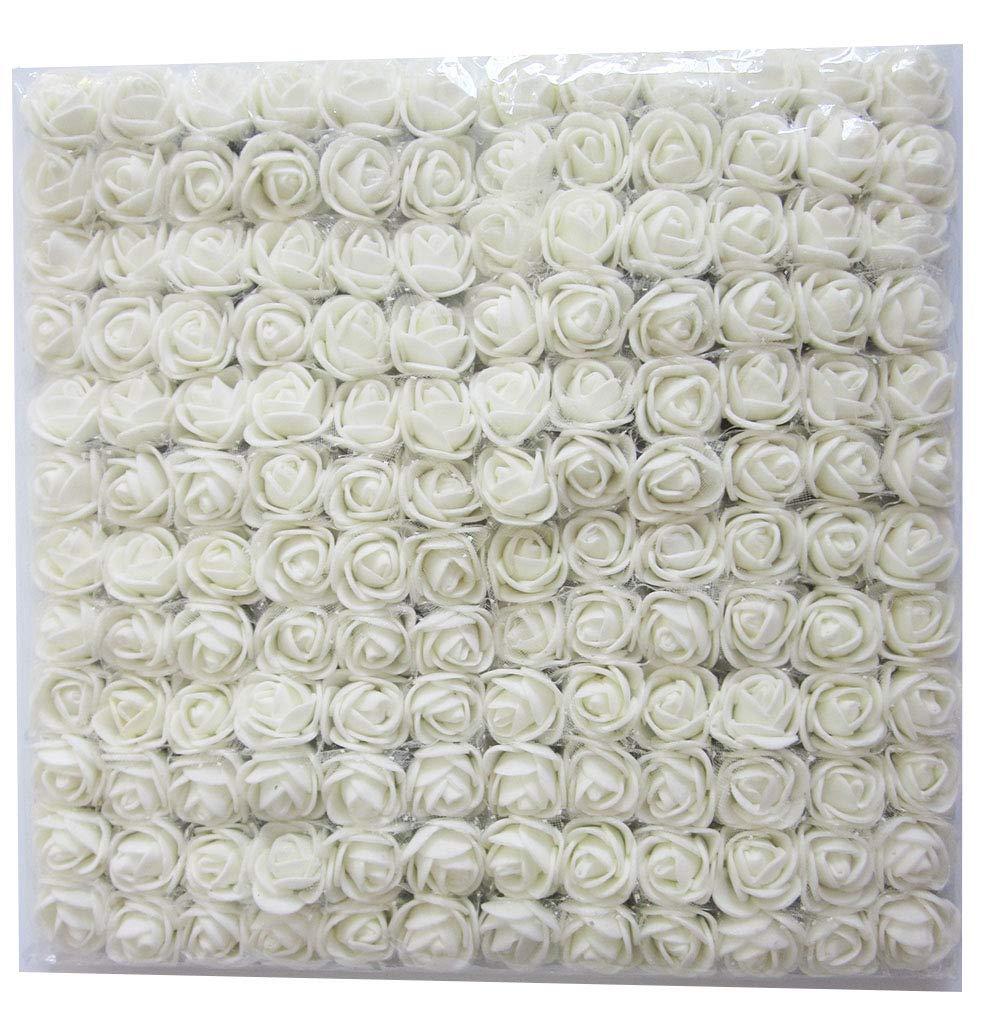 Artfen Mini Fake Rose Flower Heads 144pcs Artificial Roses Diy