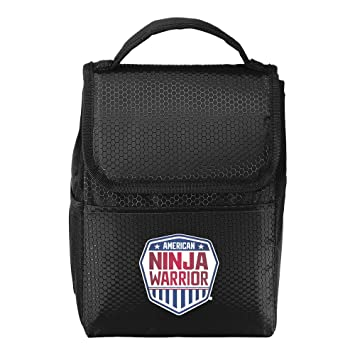 American Ninja Warrior Lunch Tote/Cooler - Black - Perfect for ANW Fans on the Go