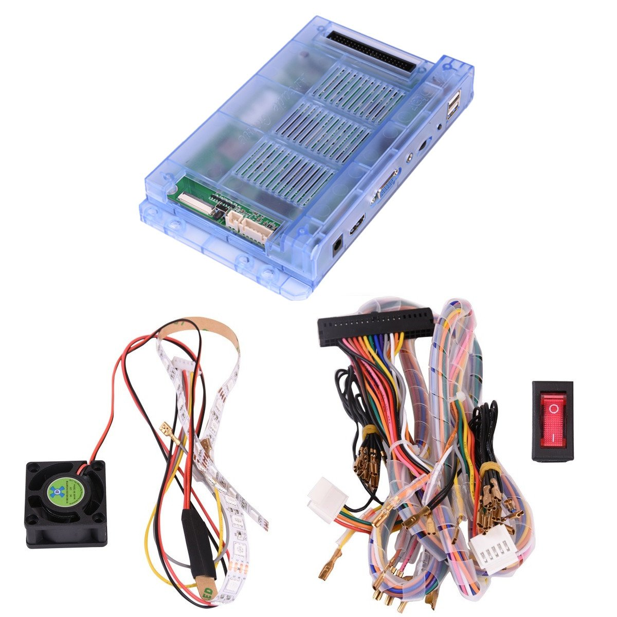 Pandoras Box 5s Home Arcade Console Machine999 Games All In Please Could You Help With Wiring New Light To Older Cables Diynot 1 Kit 2 Players Machineenglish Version Harness Fasten Wire Cable