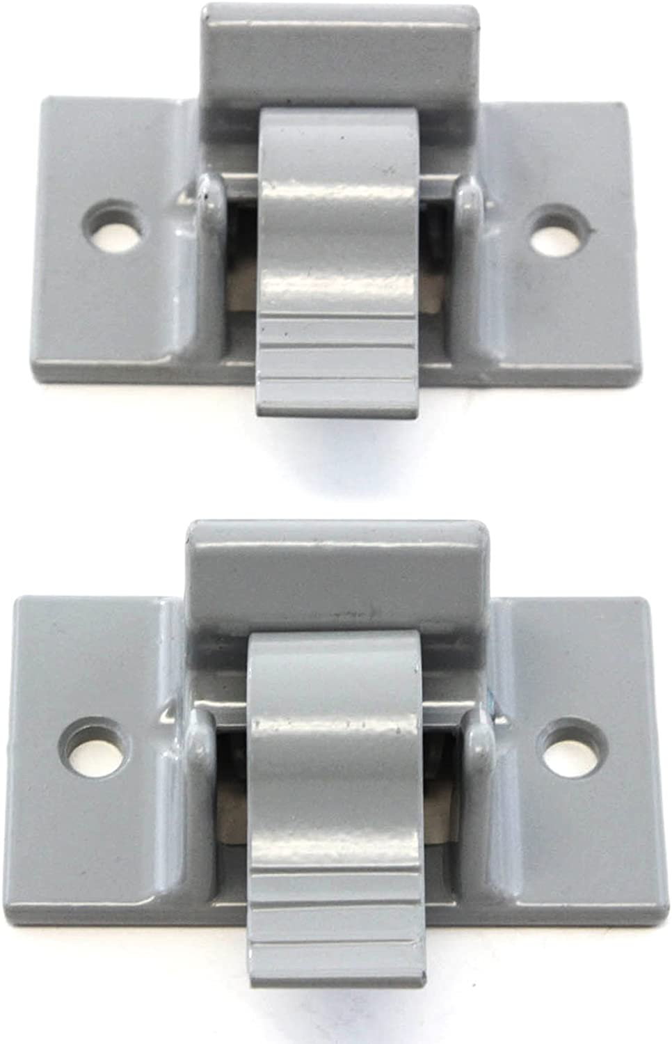 Red Hound Auto Mounting Brackets (2) Compatible with Dometic Sunchaser Lower Awning Arm Bottom Replacement Gray RV Camper Trailer