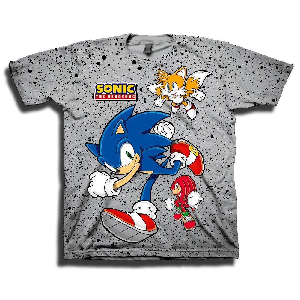 SEGA Sonic The Hedgehog Boys Athletic T-Shirt and Shorts Set