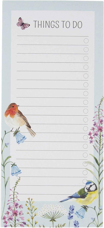 Jardin Oiseaux Carnet de notes