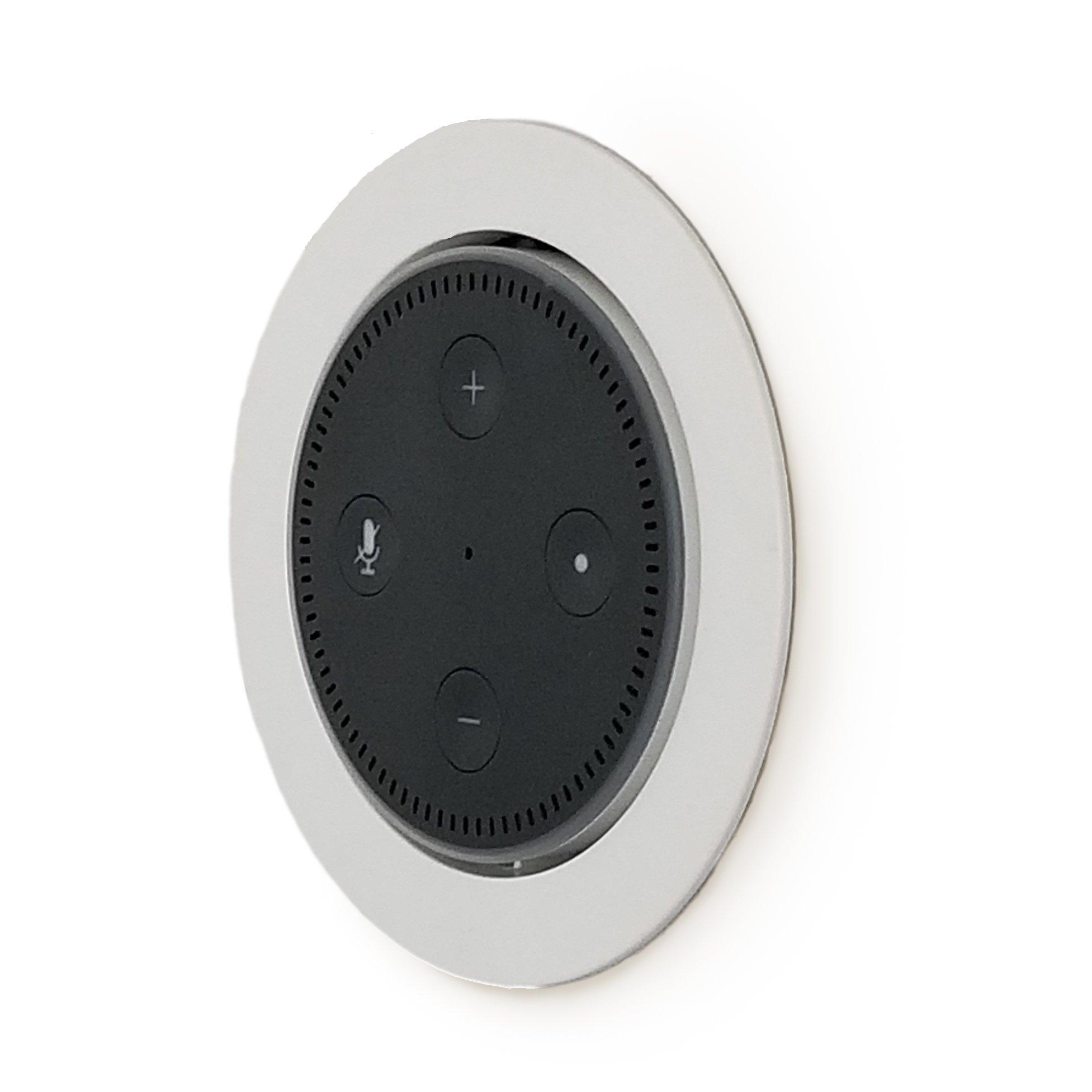Flush Dot Mount Built-in Wall Ceiling Mount Speaker Smart Home Office W/  Wiring
