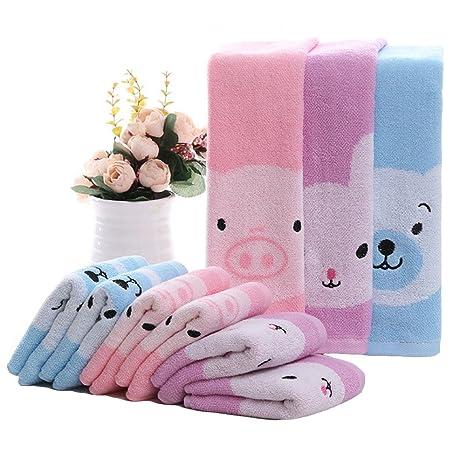 Affe 2/pcs//lot Cute Cartoon beb/é toalla de cara y limpiador toallitas