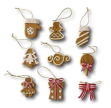 set weihnachtsbaumschmuck christbaumschmuck figuren aufhanger baumschmuck anhanger aus polymer ton