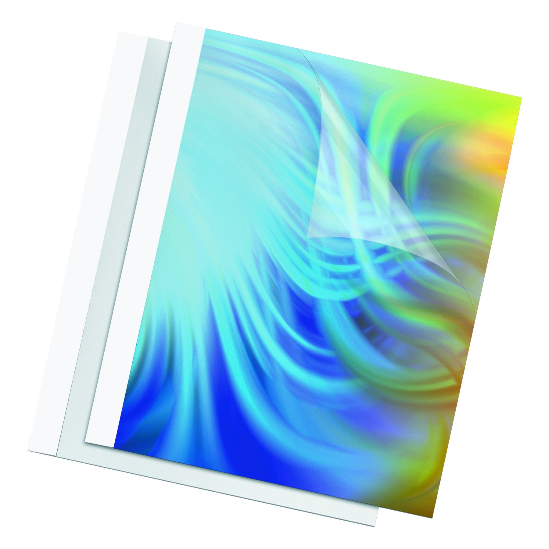 Fellowes Thermal Presentation Covers, 1/8'', 30 sheets, White (52220)