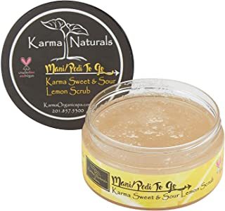 product image for Karma Organic Natural Lemon Scrub – Essential oils for flawless, Glowing and Balanced Skin Complexion