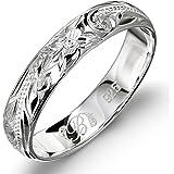 SOUFEEL <無限の愛> レディース リング シンプル 指輪 ジルコン ファッション デザイン 人気 華奢 シルバーリング 925 婚約 結婚 婚約指輪 ピンクゴールド サイズ