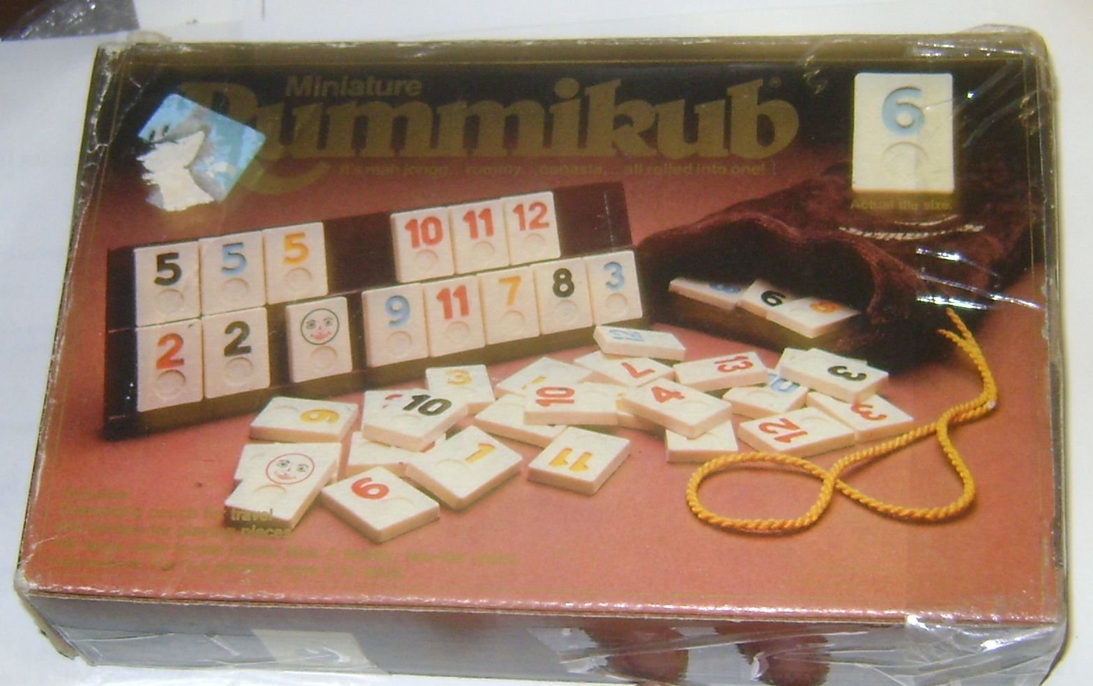 Miniature Rummikub Game by Pressman