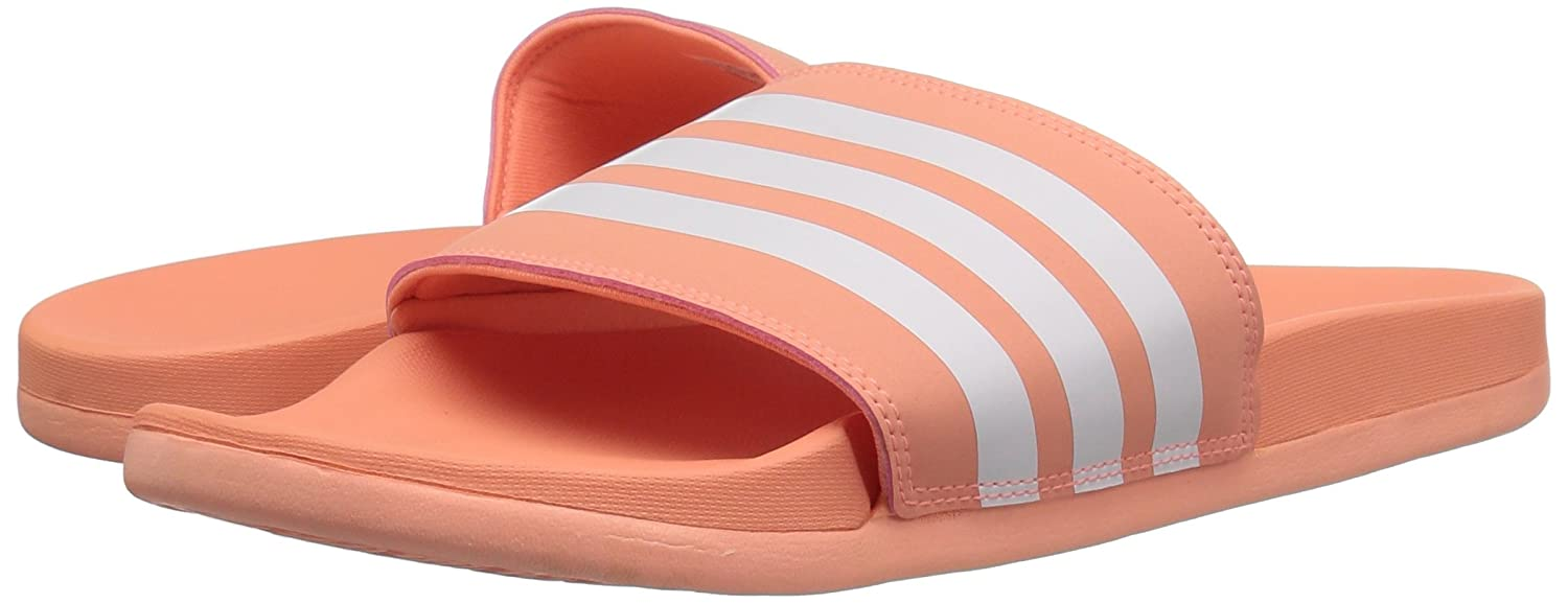 896eb003caee Amazon.com  adidas Women s Adilette Cloudfoam+ Slide Sandal  Shoes