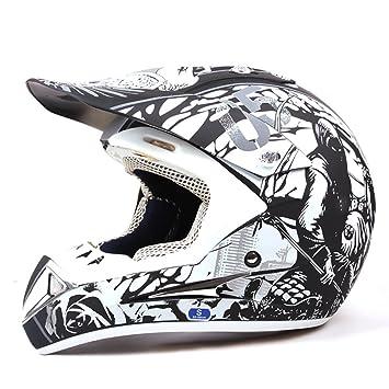 DUEBEL Bull Fight Cascos Integrales BMX/MTV / Cross Country, Cascos de Motocross (