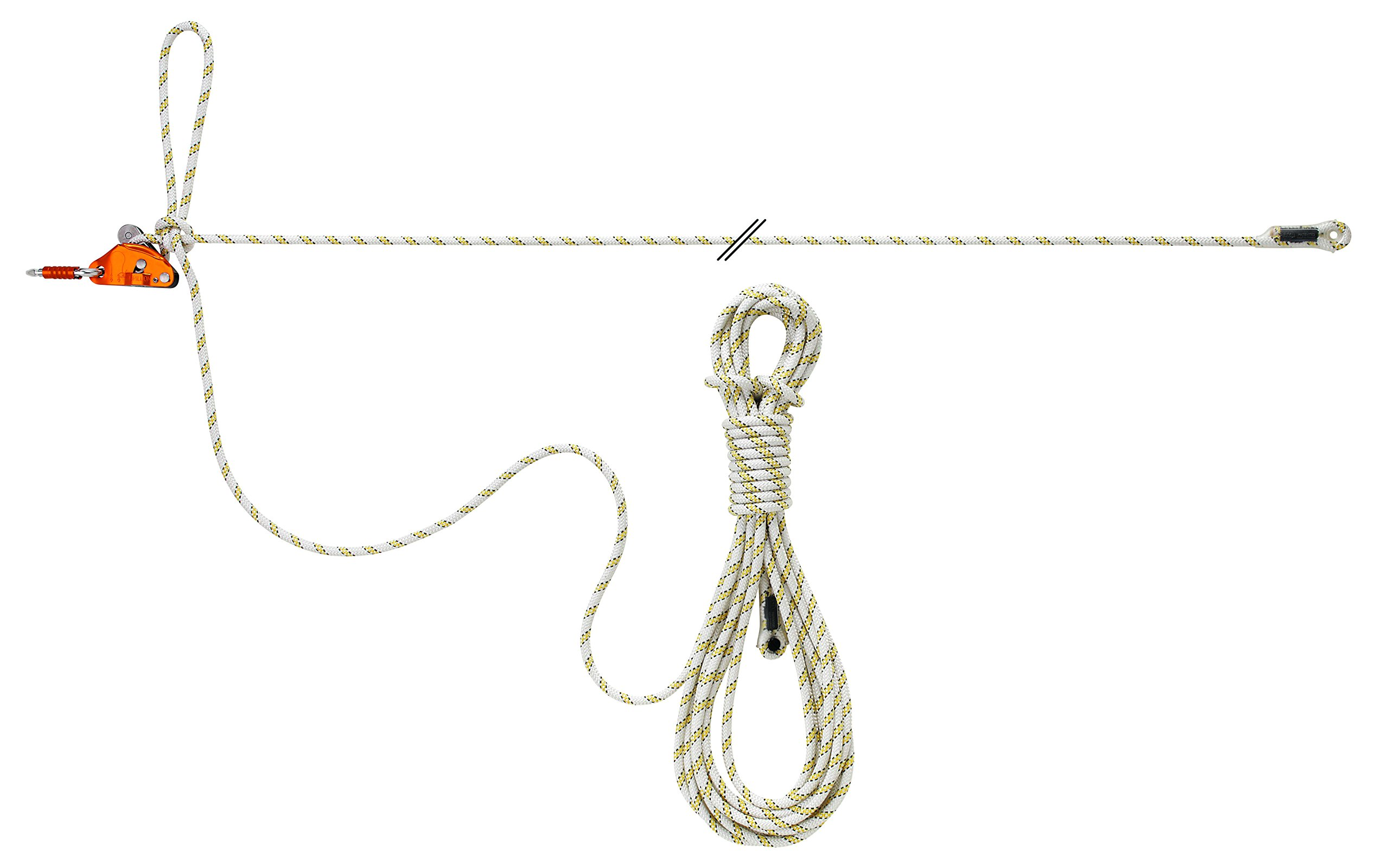 PETZL - GRILLON Lifeline, Temporary Horizontal Lifeline, 10 m