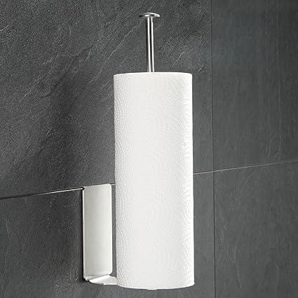Kaileyouxiangongsi - Portarrollos de papel higiénico autoadhesivo, para baño, cocina, papel dispensador,