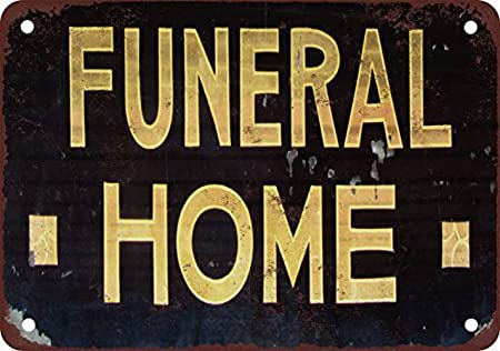 Fluse Funeral Vintage Metal Art Chic Retro Metal Cartel de ...