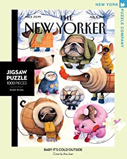 amazon com new york puzzle company new yorker tag sale 1000