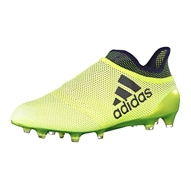 70f75c29c151 adidas Men s X 17+ Purespeed Fg Sneakers Yellow Size  6 UK
