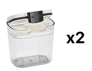 Progressive Mini ProKeeper Airtight Silicone Seal Storage Container (2-Pack)