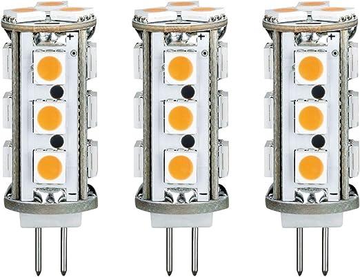10 x Paulmann 282.76 LED Stiftsockel 2,5W Warmweiß G4 12V 28276