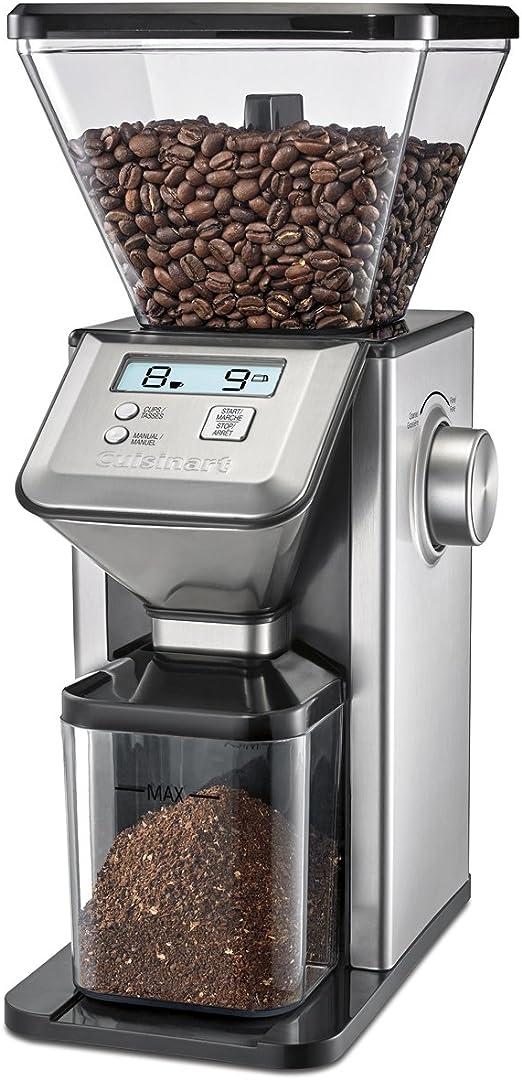 NEW Cuisinart CBM-20 Premium Conical Coffee Bean Burr Grinder Silver ESPRESSO
