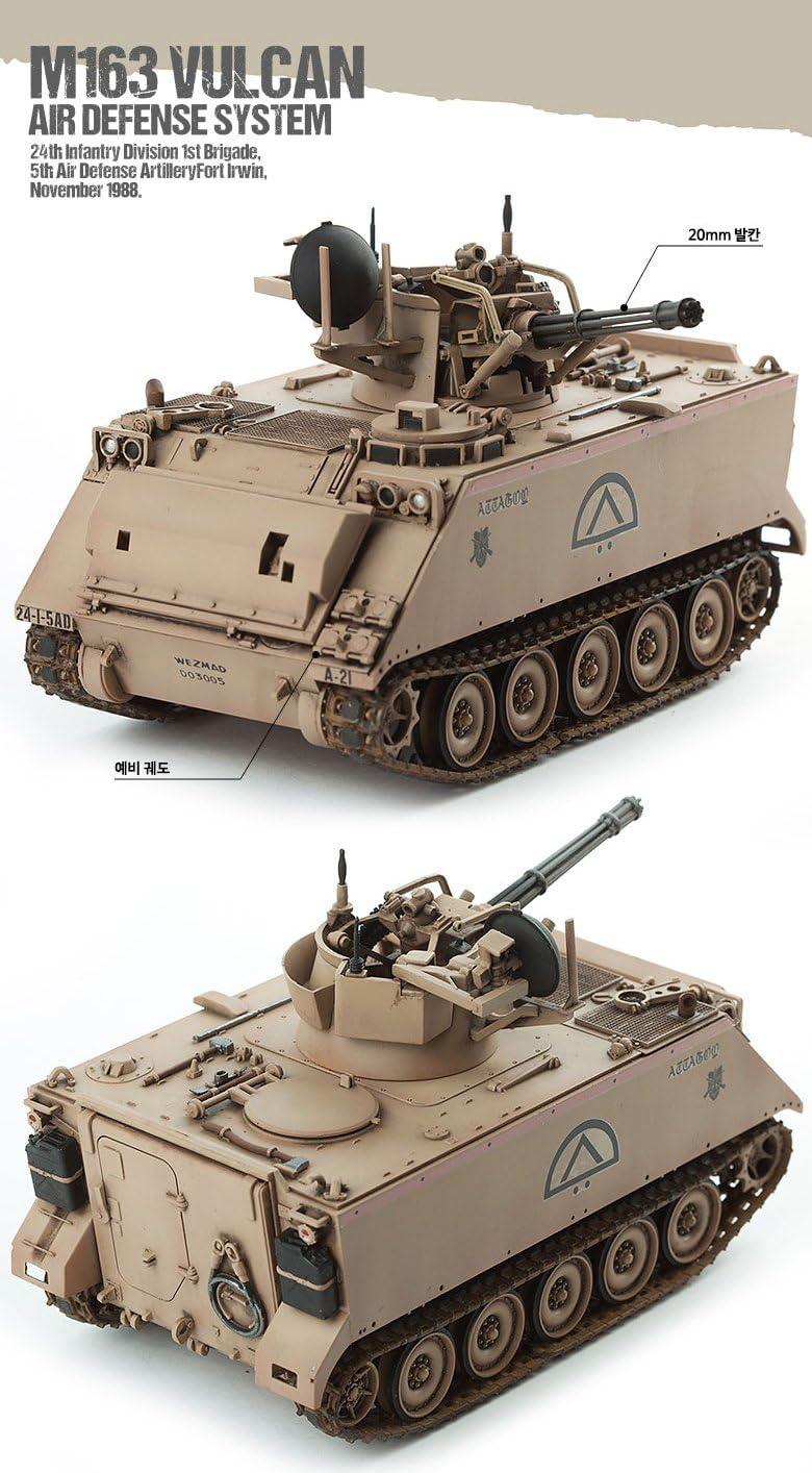char M163 A1 Vulcan Air Defense 1//72