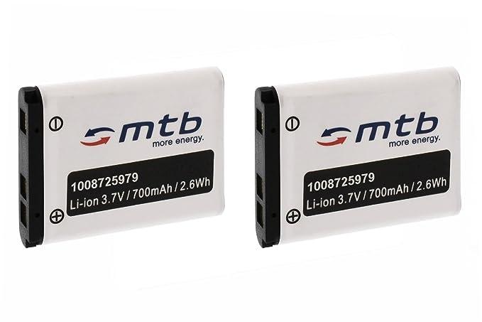 1 opinioni per 2x Batteria NP-80 per Casio Exilim EX-G1, H5, H50, N1, N2, N10, N20, S5, S6,