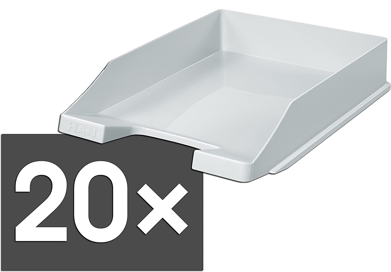 HAN 1027 Briefablage KLASSIK, DIN A4 C4, stapelbar, stabil, modern modern modern (lemon   20er Pack) B07BYF8P8F | Speichern  6022cf