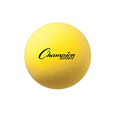 Champion Sports Uncoated Regular Density Foam Ball : Playground Balls : Toys & Games