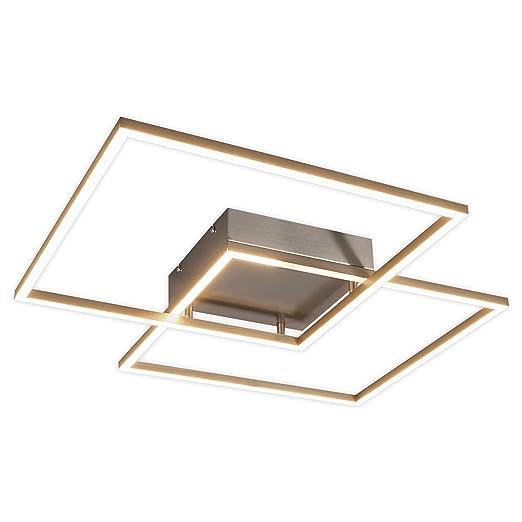 LED Lámpara de techo Mirac (Moderno) en Gris hecho de ...